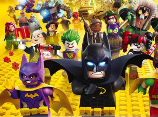 סרט ילדים: לגו-באטמן